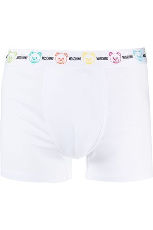 Moschino Teddy Bear-waistband boxers