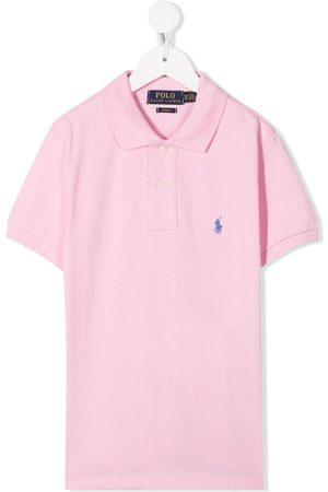 Ralph Lauren Kids Logo-embroidered polo shirt