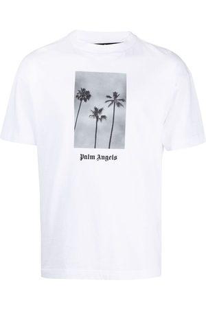Palm Angels Men T-shirts - Boulevard-print T-shirt