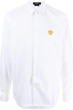 VERSACE Shirts - Medusa plaque shirt
