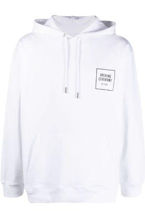 Opening Ceremony Men Hoodies - Graphic-print logo hoodie