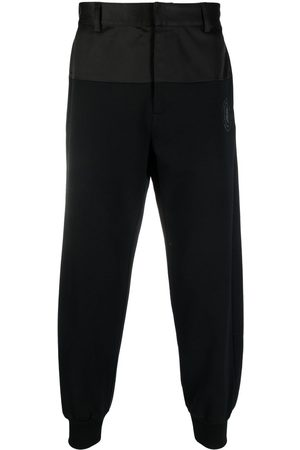 Opening Ceremony Logo-embroidered cotton track pants