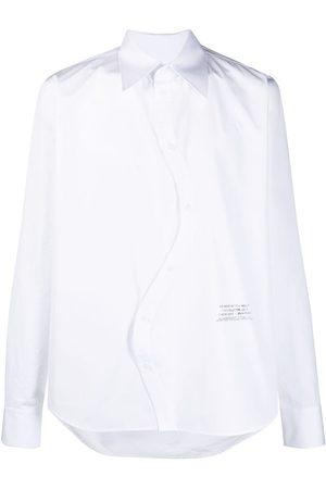 OFF-WHITE Twist-front shirt