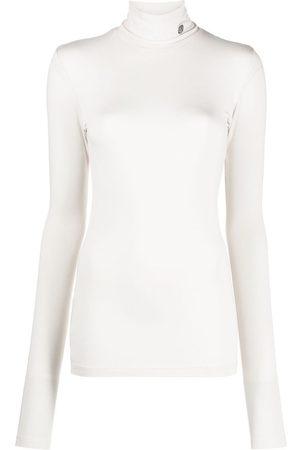 AMBUSH Long-sleeved roll-neck top - Neutrals