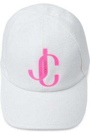 Jimmy Choo Paxe logo cap - Neutrals
