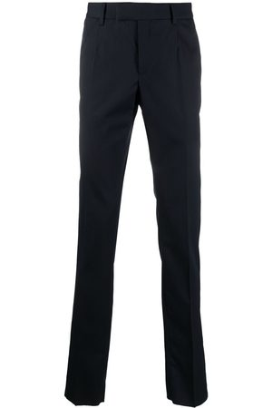 VERSACE Wool tailored trousers