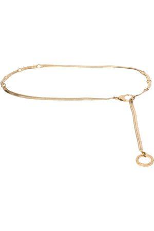 AZ FACTORY Women Body Jewelry - Flat chain belt