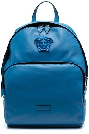 VERSACE La Medusa leather backpack