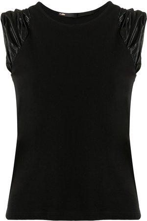 Muller Of Yoshiokubo Women Tank Tops - Ruched-detail vest