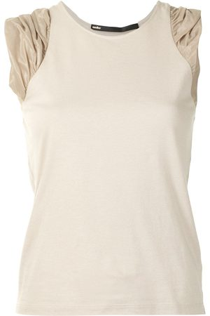 Muller Of Yoshiokubo Ruched-detail vest