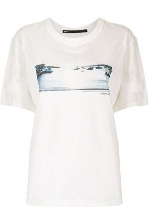 Muller Of Yoshiokubo Women T-shirts - Sunset Glow print T-shirt