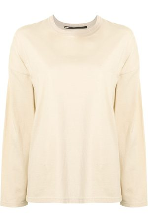 Muller Of Yoshiokubo Women Long Sleeve - Cold Dark Matter long-sleeve T-shirt - Neutrals