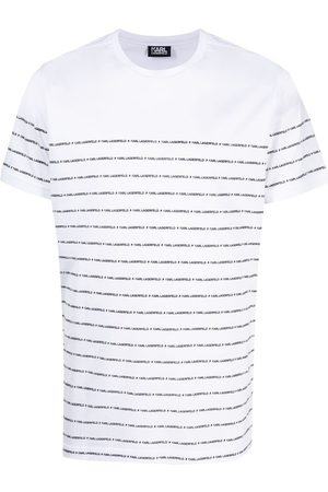 Karl Lagerfeld Men T-shirts - Logo crew-neck T-shirt