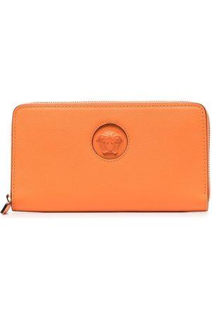 VERSACE Women Wallets - Logo-print leather wallet