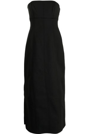 SIR Andre strapless midi dress