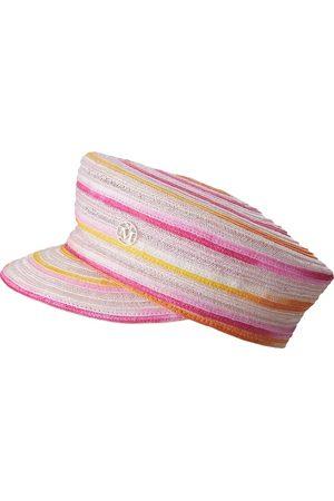 Le Mont St Michel Abby colour-block beret hat