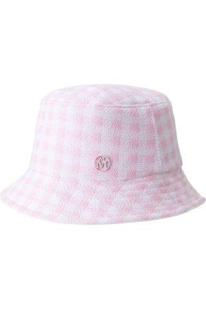 Le Mont St Michel Women Hats - Jason check-print bucket hat