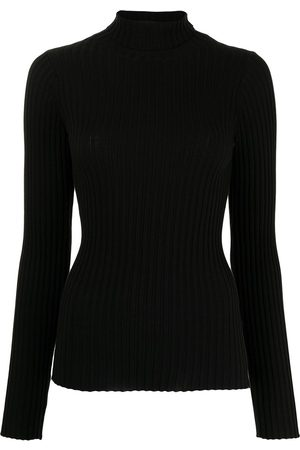 ANINE BING Ribbed roll-neck jumper