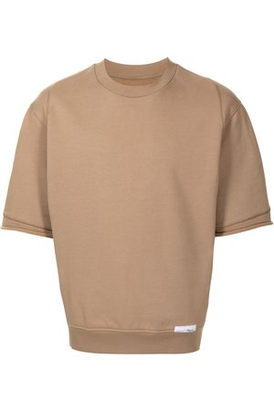 3.1 Phillip Lim Logo patch detail T-shirt - Neutrals