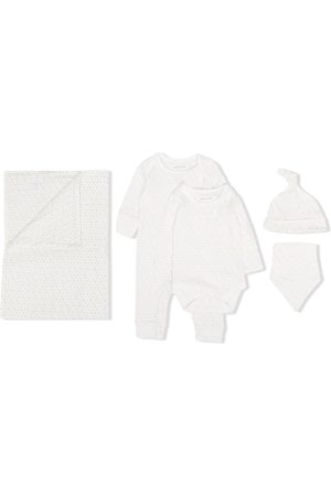 From Babies With Love First Kisses organic cotton baby gift set