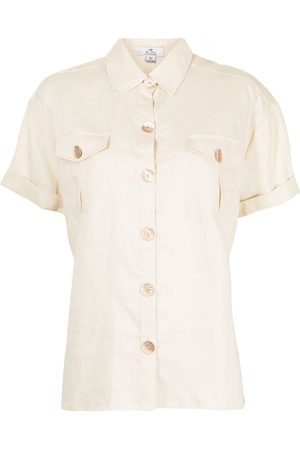 We Are Kindred Marly linen utility shirt