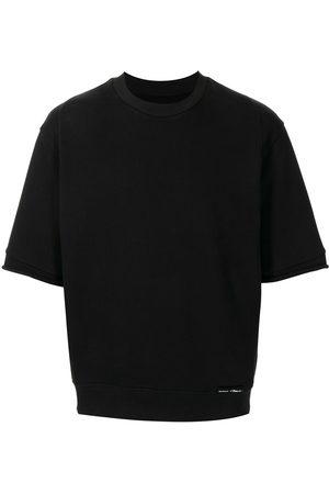 3.1 Phillip Lim Short-sleeved logo sweatshirt