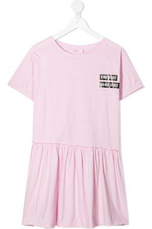 Andorine Pleated skirt T-shirt dress