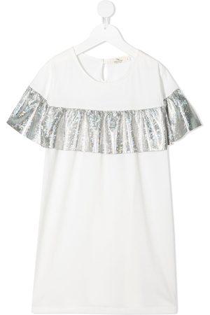 Andorine Embellished short-sleeved T-shirt dress