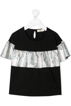 Andorine Girls Short Sleeve - Embellished short-sleeved T-shirt