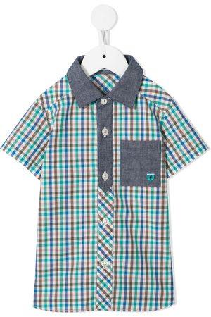 Familiar Boys Shirts - Check-print shirt