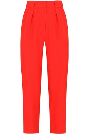 Dolce & Gabbana High-waisted straight-leg trousers