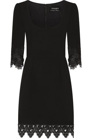 Dolce & Gabbana Women Dresses - Lace detail short dress