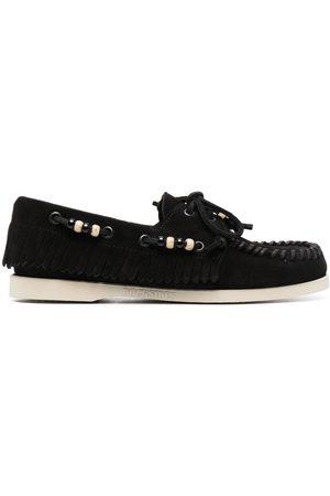Alanui Women Loafers - Dockside beaded loafers