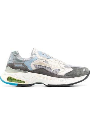 Premiata Sharky colour-block sneakers - Grey