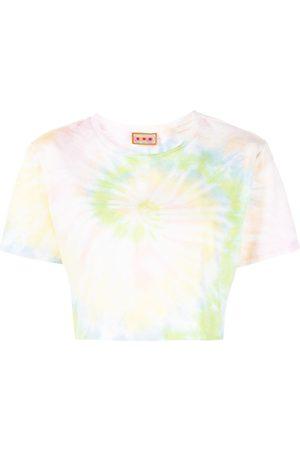 LHD Tie-dye cropped T-shirt - Multicolour