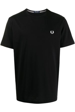 Fred Perry Logo-embroidered T-shirt