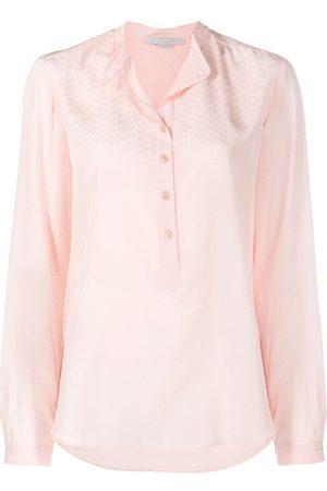 Stella McCartney Women Shirts - Eva dot-embroidered shirt