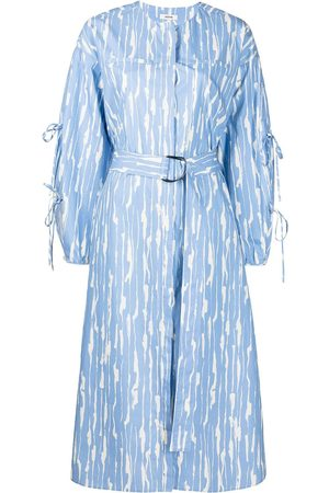 Jason Wu Women Printed Dresses - Abstract-print cotton dress