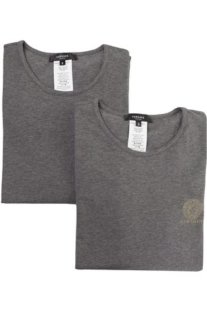 VERSACE Medusa short-sleeved T-shirt 2-pack - Grey