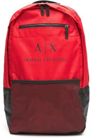 Armani Men Rucksacks - Logo-print backpack