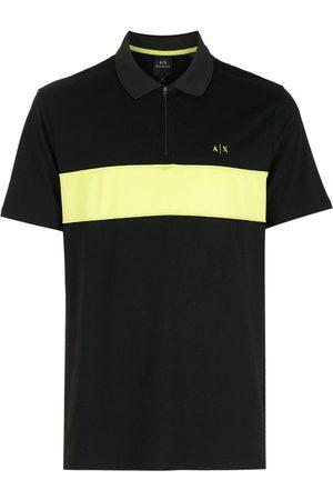 Armani Chest logo-print polo shirt
