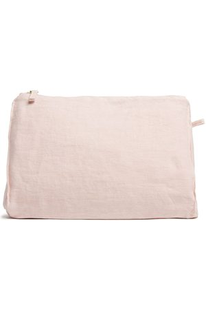 Once Milano Toiletry Bags - Large linen zipped pouch