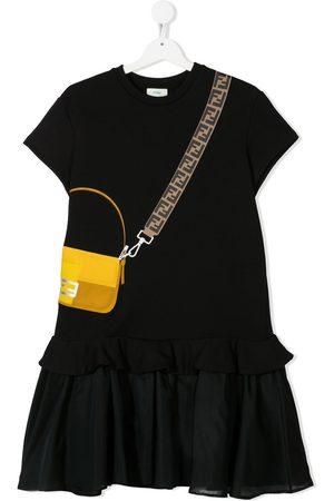 Fendi Bag-print dress