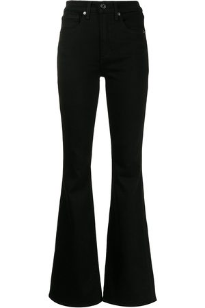 Veronica Beard Women Wide Leg Pants - Beverly flared trousers