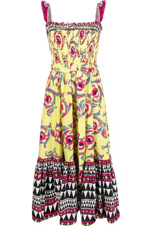 La Doublej Floral print mid-length dress