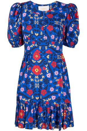 La Doublej Coquette floral-print dress