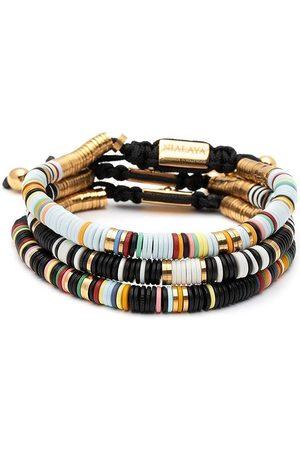 Nialaya Jewelry Men Bracelets - The St. Tropez bracelet stack