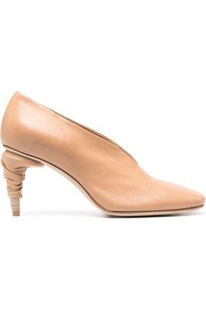 Officine creative Women High Heels - Rondha leather pumps - Neutrals