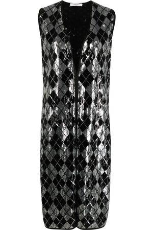 CHARLOTT Women Gilets - Sequin-embellished sleeveless jacket