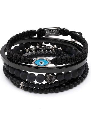 Nialaya The Tokyo bracelet stack